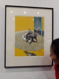 Francis Bacon - Miroir de la Tauromachie. 1969 (detail)