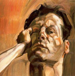 Man's Head (Self-Portrait I), 1963 - Lucian Freud