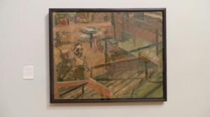 Euston Steps - Study, 1980-81 - Frank Auerbach (archive photo)