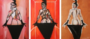 The Kim Kardashian Triptych